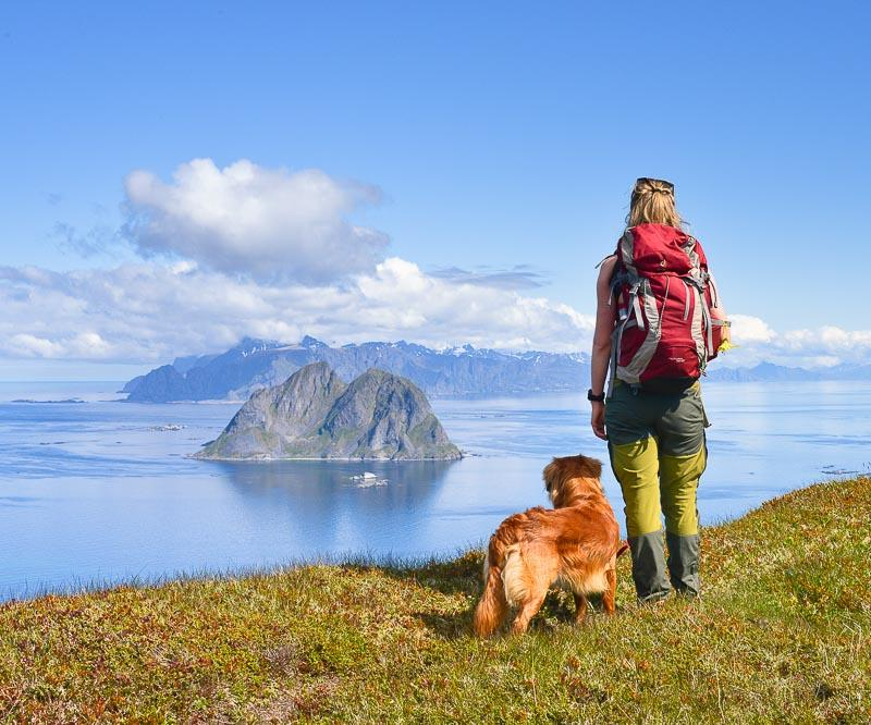 Hiking Lofoten Islands Nordlandsnupen