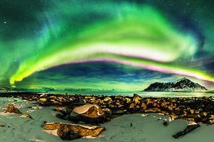 Northern lights in the Lofoten's Islands - Martin Kulhavy