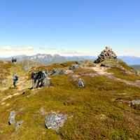 Hiking to Bulitinden and Guratinden