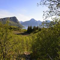 Hiking to Holandsmelen