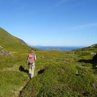 Hiking to Urevatnet