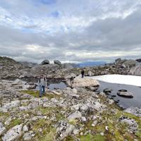 Hiking to Rundfjellet